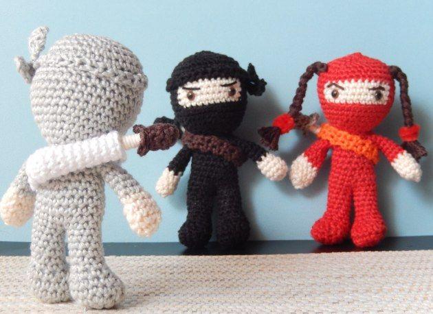 Amigurumi Disney Tutorial : Amigurumi Ninja - FREE Crochet Pattern / Tutorial FREE ...
