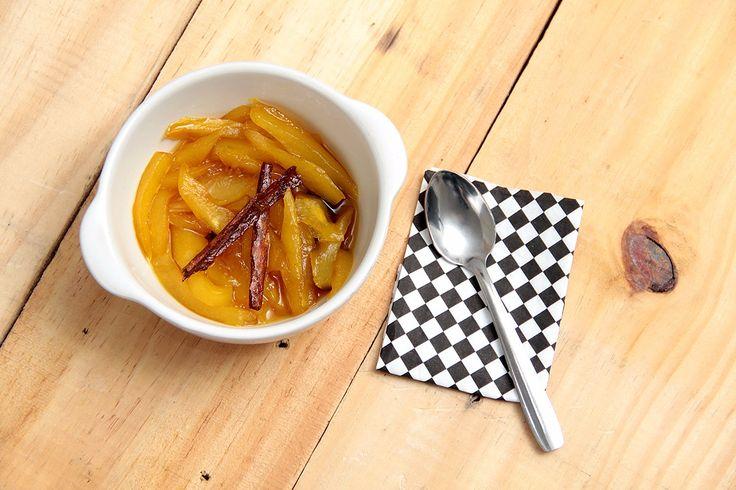 Dulce de papayuela de Soledad.