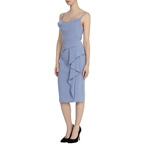 Buy Coast Finale Crepe Dress, Pale Blue Online at johnlewis.com