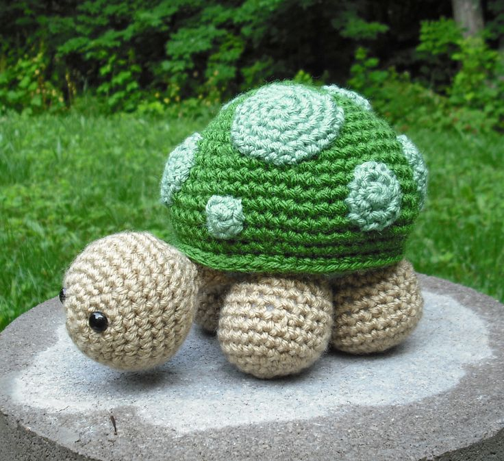 Sheldon Turtle - pattern by Little Muggles