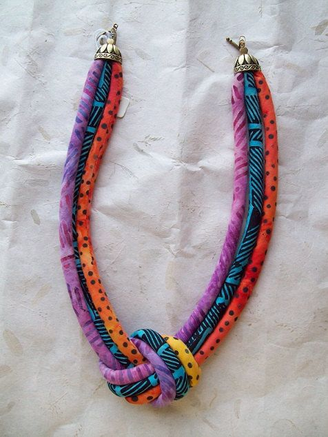Hey, I found this really awesome Etsy listing at https://www.etsy.com/listing/193473639/batik-knotted-cord-necklace-ethnic-soft