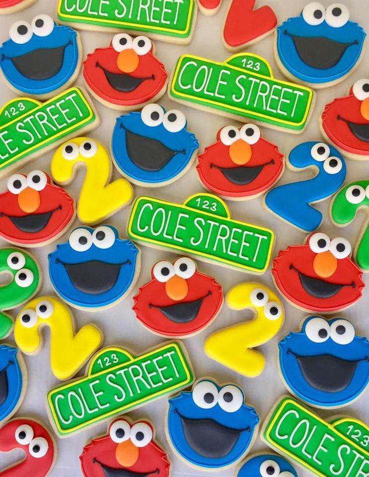 elmo cookie monster sesame street cookies