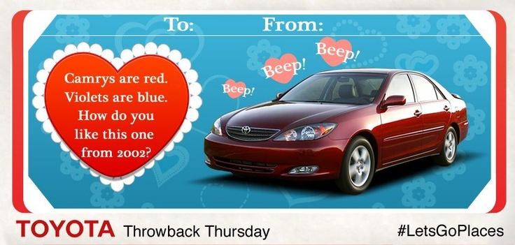 Happy Valentine's Day from Atlanta Toyota! http