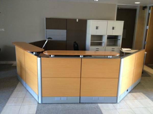 1000 ideas about office reception desks on pinterest reception desks office reception and. Black Bedroom Furniture Sets. Home Design Ideas