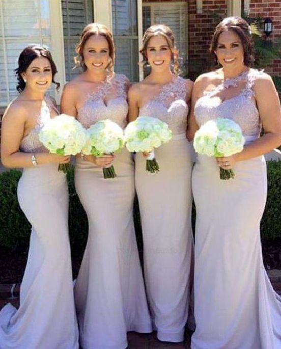 257ac742fdcc Favorite 40+ Bridesmaid with Mermaid Dresses to Copy Ideas