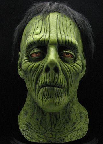 radioactive zombie halloween mask jm101 5395 - Creepy Masks For Halloween