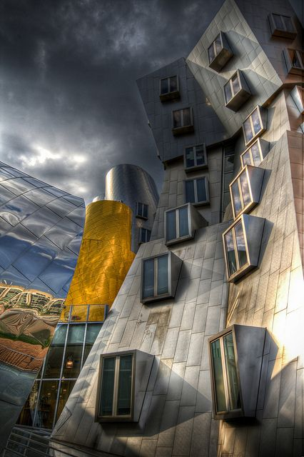 USA; MIT Stata Center by Frank Gehry
