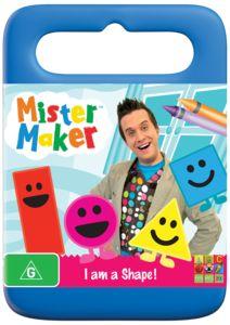 Mister Maker - I Am A Shape DVD $16.99