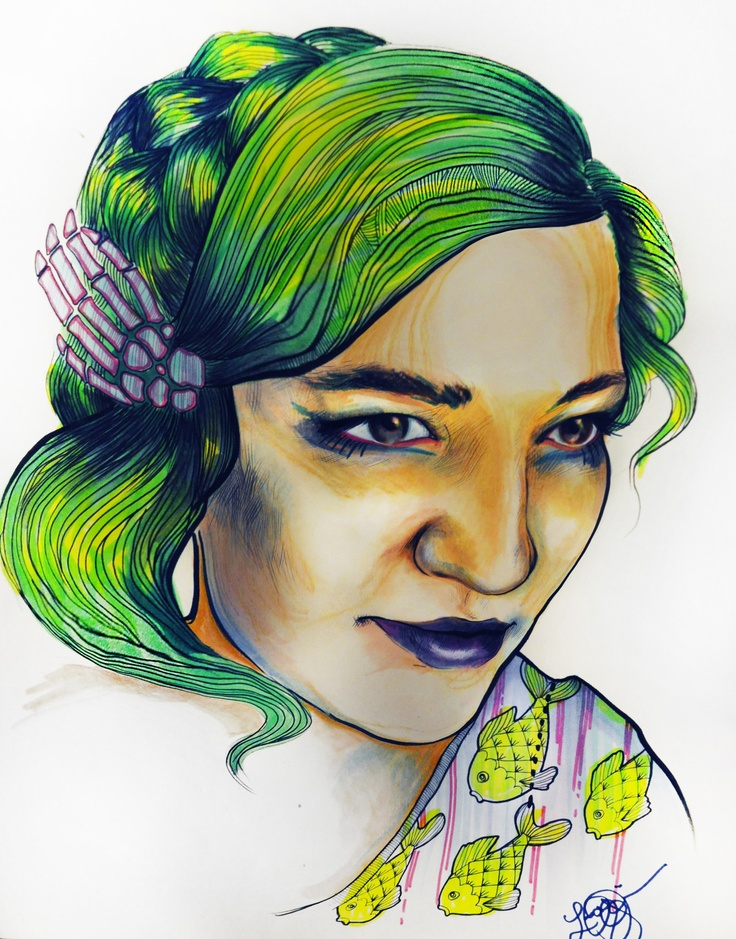 Arabelle Sicardi - sketched out