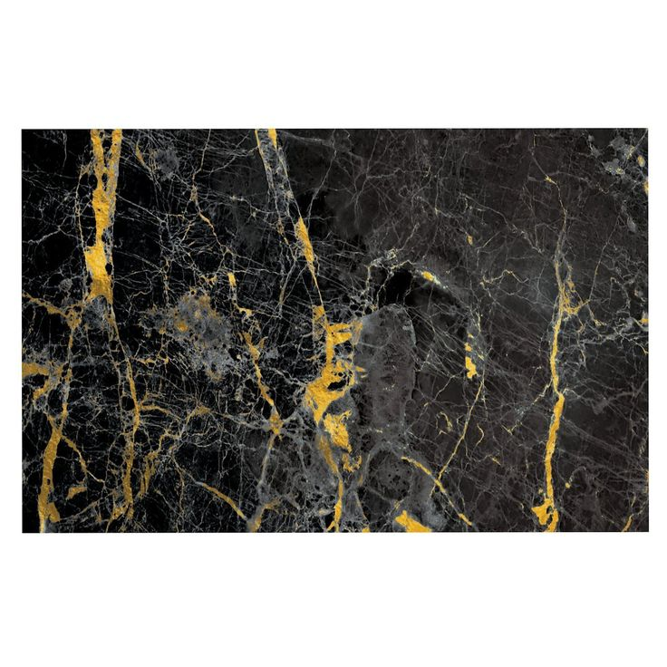 KESS InHouse KESS Original 'Gold Fleck Black Marble' Digital Abstract Dog Place Mat, 13' x 18' *** You can get more details here : Dog food container