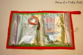 Diary of a Crafty Lady: DIY Ziplock Bag Travel Kit / First Aid Kit