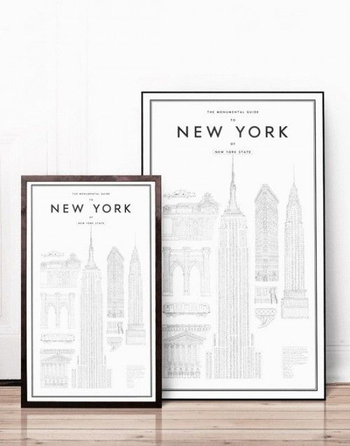 Uhhh.. :D Monu- mental Guide to New York poster
