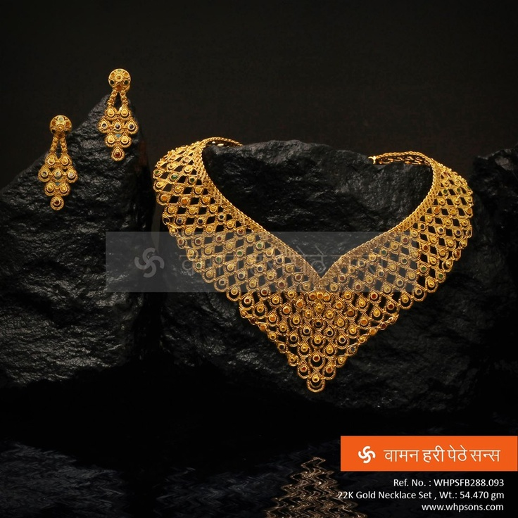 163 best Gold images on Pinterest Indian jewellery design Gold
