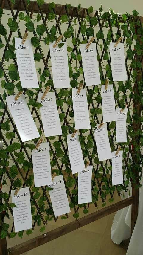 Mapa de mesa fondo de hojas artificiales