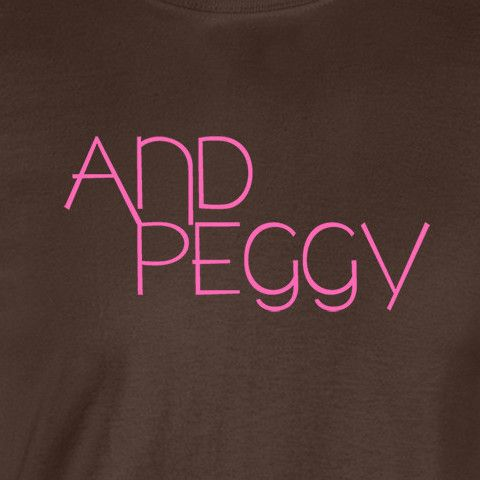 """And Peggy"""" Hamilton T-Shirt - Wicked Moxie - Pink Retro Styled Text. -wickedmoxie- . This listing is for our Unisex Tee. Click the links below for other shirt options. 3X - 4X - 5X Shirts American App"""