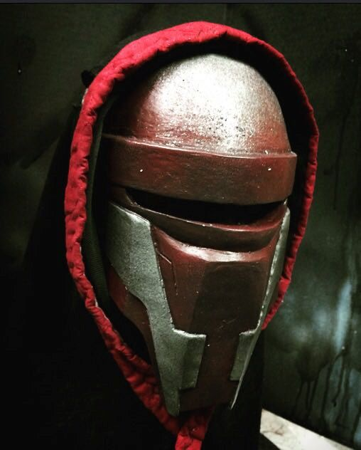 Darth Revan Mask  Star Wars: Knight of the old by SabreGroveProps