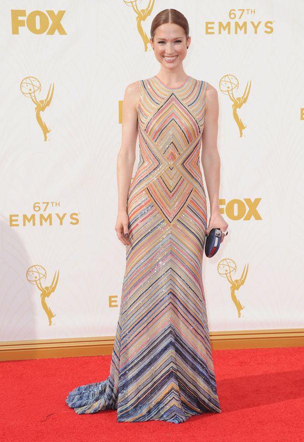 Ellie Kemper aux Emmy Awards 2015  © Abaca