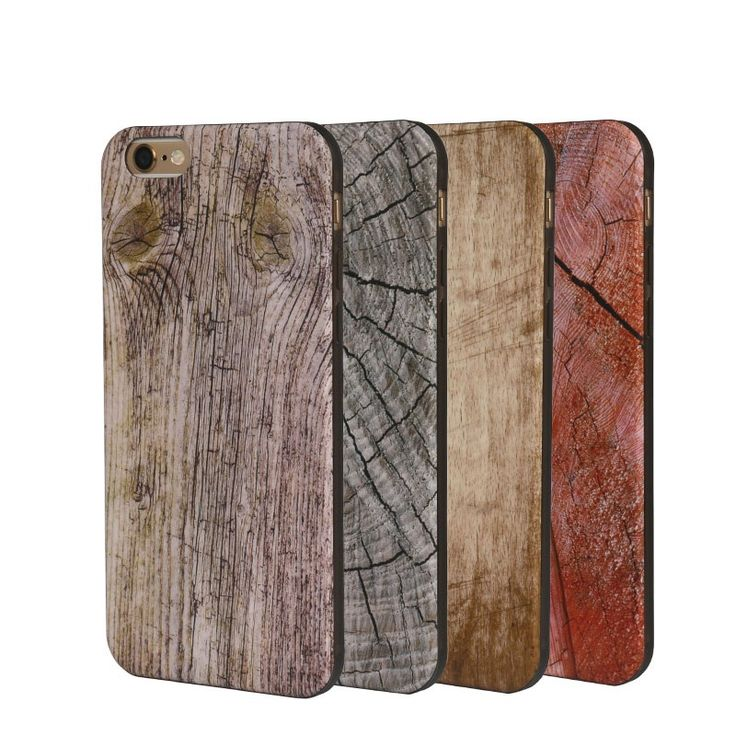 USAMS Wood Grain Pattern TPU Cover Case With Fragrance For iPhone 6/6s Sale-Banggood.com
