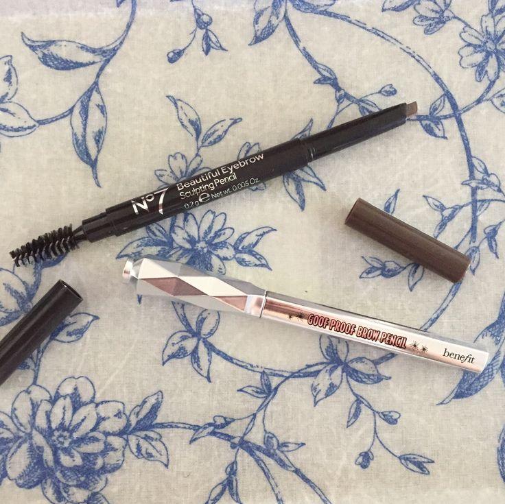 Dupe Alert!   Benefit Goof Proof Brow Pencil v No 7 Sculpting Pencil