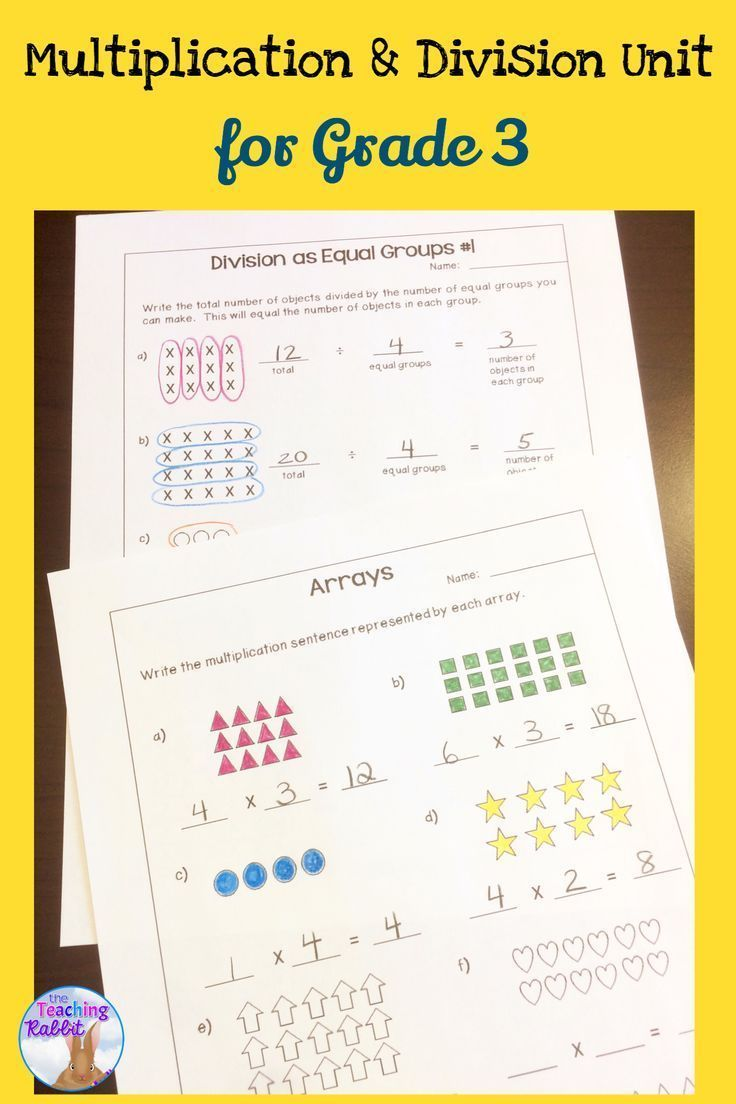 multiplication  u0026 division unit for grade 3  ontario