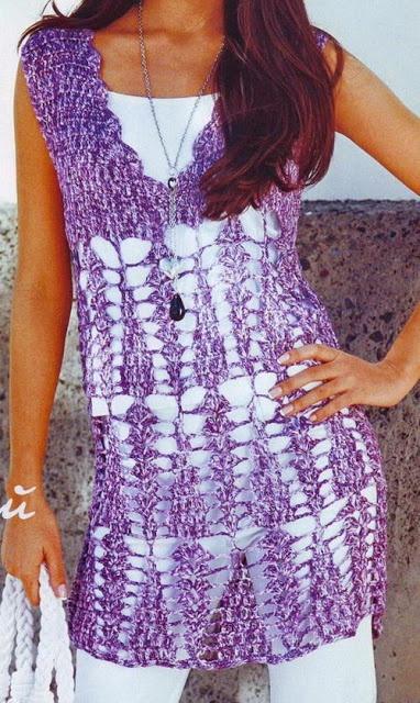 Crochet Sweater: Crochet - Women Crochet Tunic for Summer