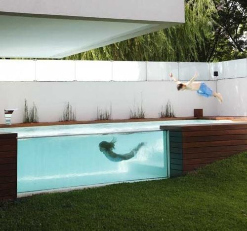 Pool in my future house so i can teach synchronized for Drim piscinas