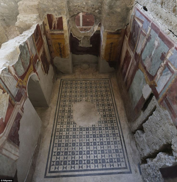 Six ancient residences, or 'domus', at archaeological excavations of Pompeii have re-opened to visitors