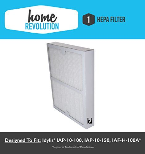 idylis a style home revolution brand hepa air purifier filter replacement made to fit idylis air purifiers model