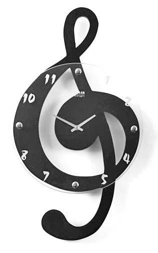 Treble Clef clock