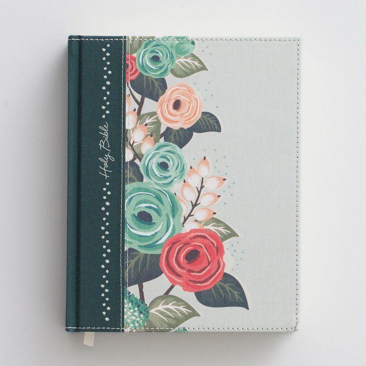 KJV Journal the Word Bible - Floral