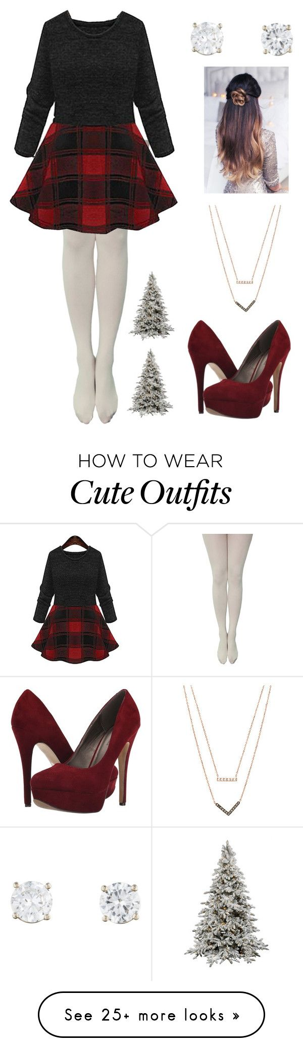 """My Idea of a Christmas Outfit"" by from-mina-with-love on Polyvore featuring Michael Antonio and Michael Kors"