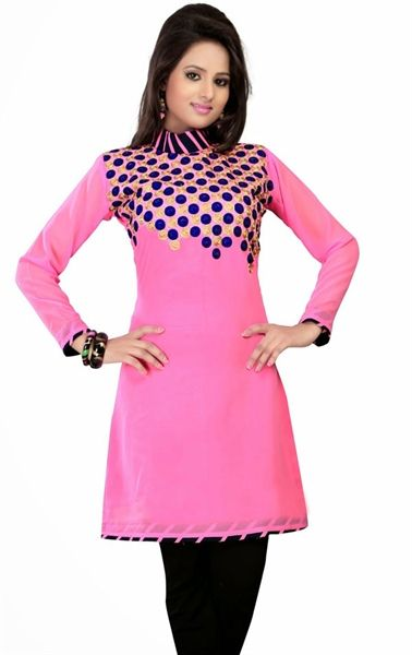 Picture of Loveable Pink Designer Tunics