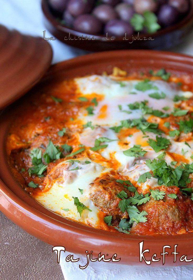 une virée au Maroc, avec un plat populaire et très apprécié, c'est le tajine kefta aux œufs. Une recette marocaine à la viande hachée facile,