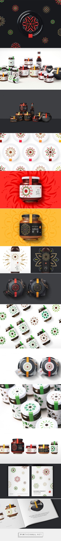 GUSDAM condiments packaging design by VIU - https://www.packagingoftheworld.com/2018/04/gusdam.html