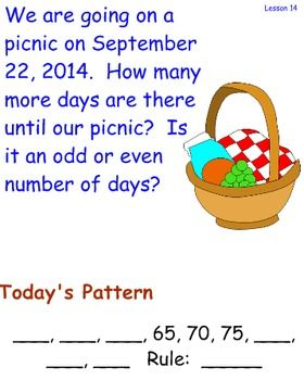 Math Meeting by Saxon 3rd Grade math for each lesson.  This bundle begins at Lesson 1 and goes through Lesson 15-2.I have put the Math Meeting items on a two page notebook file so that it can be projected to the white board at ONE time.  Students can work at their own pace, answering each part of the math meeting.