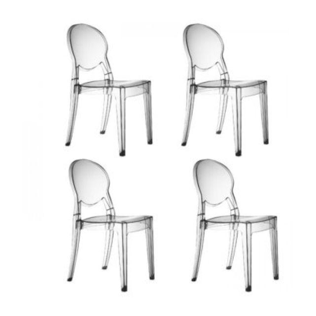 Chaises design r gence x4 sc prix promo la redoute 426 for Bertoia chaise prix