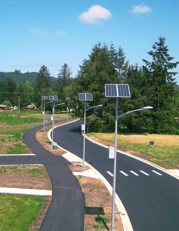 supera60 solar street light with 60w cree ledarra available