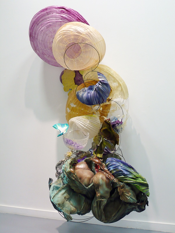 Truffle, 2011 by Judy Pfaff  ...just beautiful and cerebral, those ethereal deflated paper lanterns are magical