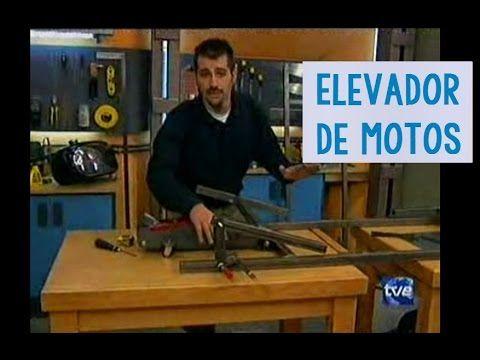 Cómo hacer una Mesa elevadora para motos, elevador artsenal...
