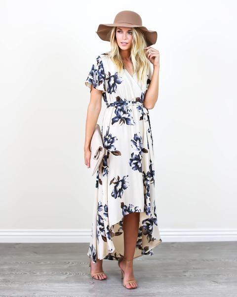 PREORDER - Blue Bonnet Maxi Dress