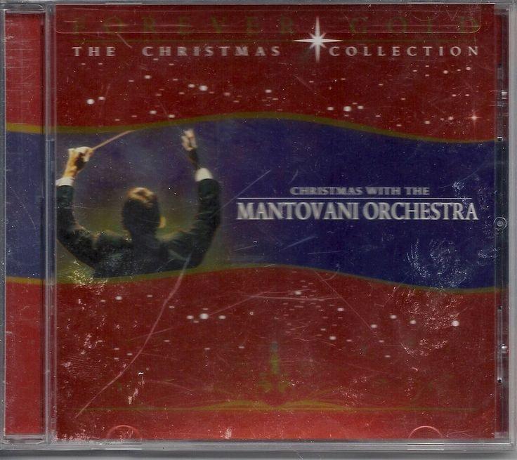 CHRISTMAS WITH THE MANTOVANI ORCHESTRA CHRISTMAS COLLECTION HOLIDAY MUSIC CD #Christmas