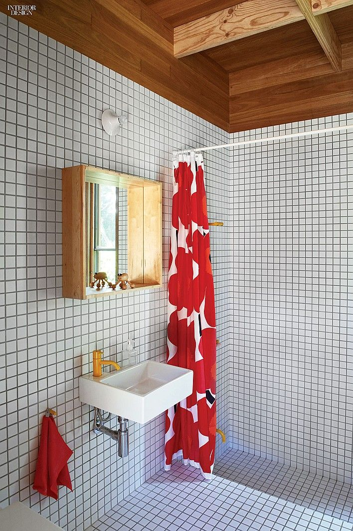 Bathroom White Mosaic North By Southeast Stephen O 39 Connor And Annick Houle 39 S Australian