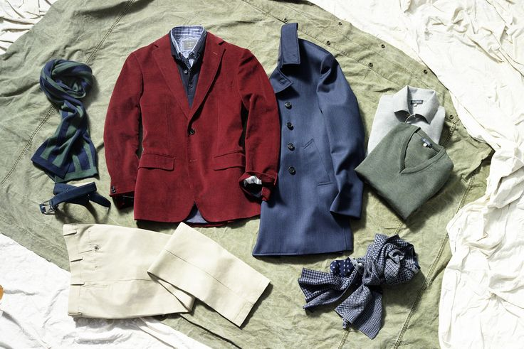 Time for some elegant winter layering, gentleman. New coats, jackets, knitwear, scarves, shirts & trousers in store.