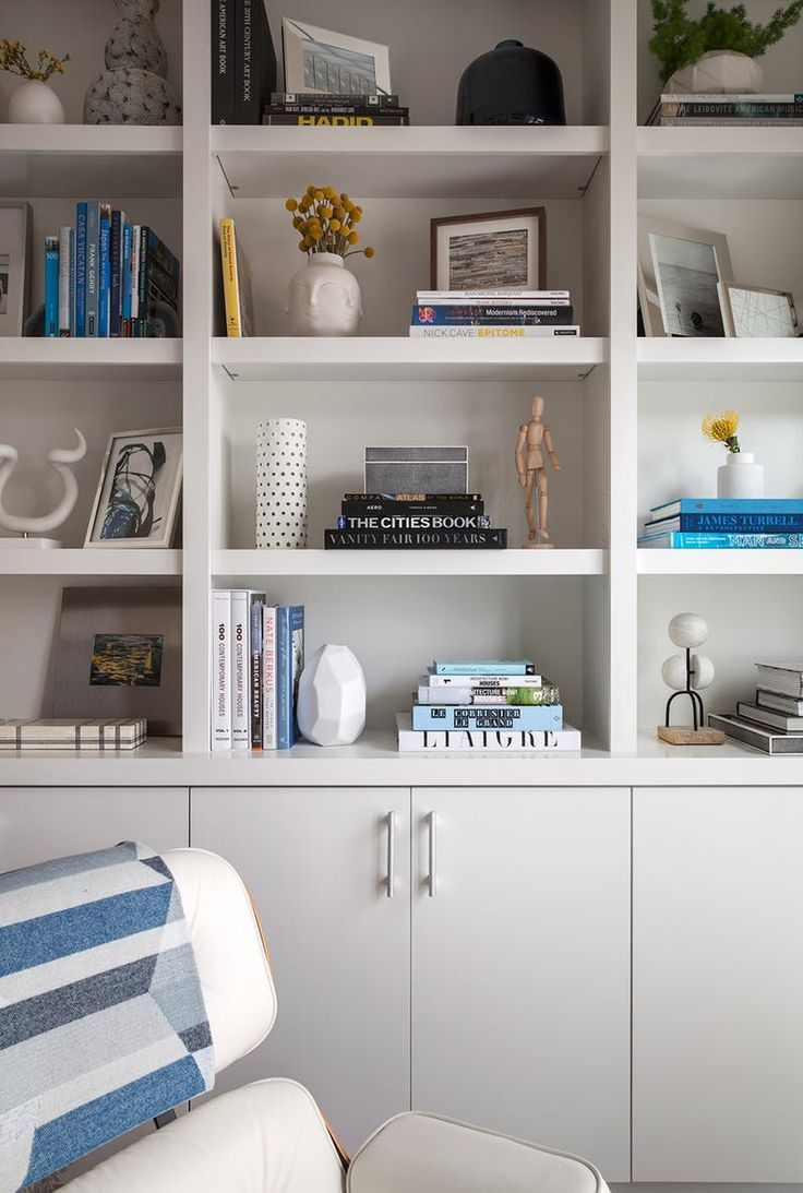Wall units need lots of love! If you're looking for small living room wall decor for your apartment a wall unit like this can be hard to keep clean and decluttered but it will definitely be worth the work.