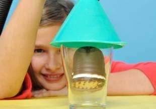Experimente mit Luft: Ganz schön schaumig