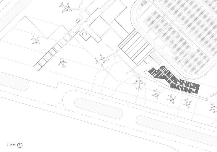 画廊 波尔多低成本机场 / Marjan Hessamfar & Joe Vérons architectes associés - 11
