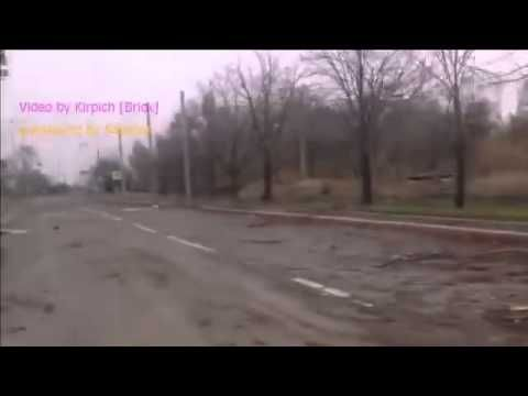 War in Ukraine / Road from Donetsk to the Donetsk Airport