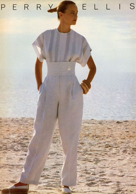 Perry Ellis - model Lisa Ryall