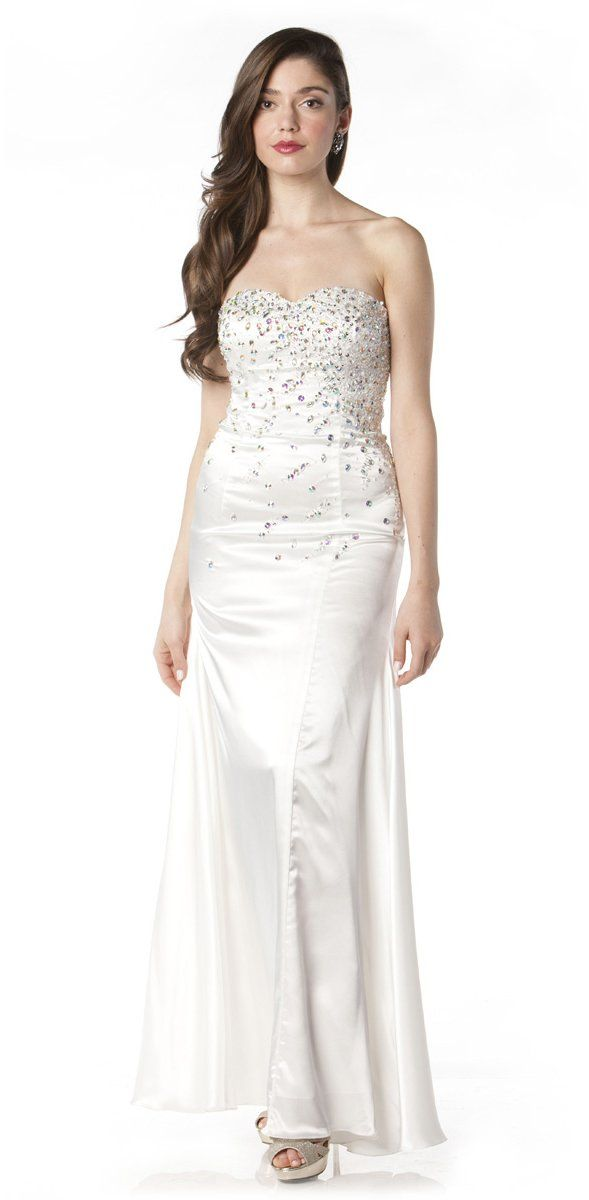 We have it all. Discover the Latest Dress Trends at Lulus for women & juniors. Free Shipping + Returns. White Dresses Select a Category Lulus You Belong With Me White and Nude Lace Strapless Maxi Dress $ + More. Lulus Love Poem Ivory Lace Dress $