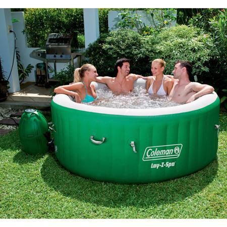 Coleman Lay-Z Massage Portable Spa for 4-6 People- $399 for a hot tub!? I'm in! This is great for people like me with widespread pain. The reviews are really good on these too!